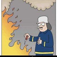 Un pompier homéopathique