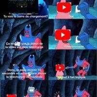 YouTube et le chargement de la vidéo...