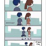 Comment marcher correctement avec une petite femme
