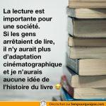 L'importance de la lecture pour une société