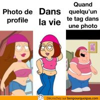 Toi en photo sur les réseaux sociaux...