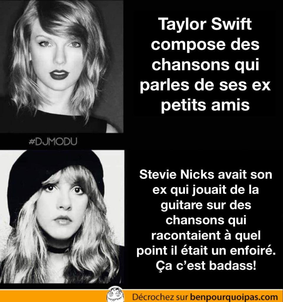 Badass: Stevie Nicks VS Taylor Swift