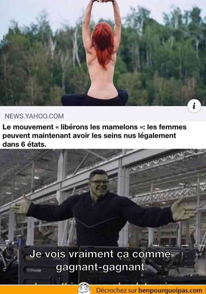 hulk dit que c'est une situation win win