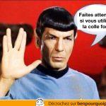 Les enfants, faites attention avec la colle forte – Spock