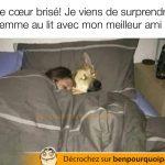 Surprendre ta copine au lit avec ton meilleur ami…