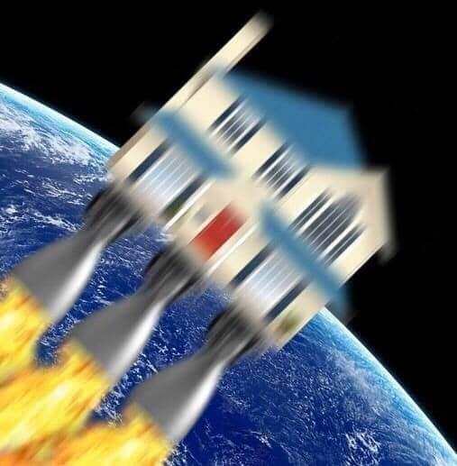 Astronaute en télétravail - ben pourquoi pas images drole et humour
