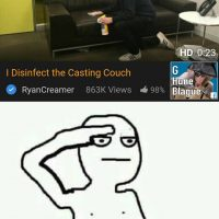 Désinfecteur du Casting Couch... tous debout!