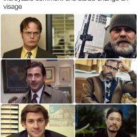 Incroyable comment une barbe change un visage