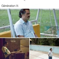 Toutes les blagues sont à propos des Boomers et de la génération Y et Z... Les X on se sens rejetés un peu