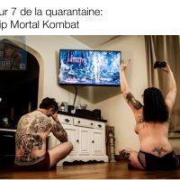 Une idée d'activité de couple pendant la quarantaine: Strip Mortal Kombat