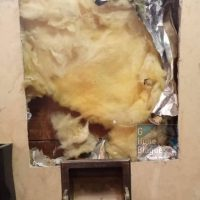 Une autre alternative au papier q: ouvrez le mur et utilisez la matière douce à l'intérieur