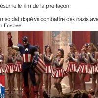 Résumé de film ridicule: Capitaine America