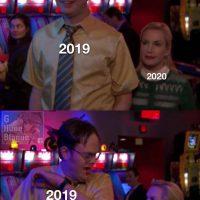 2019 était peinard quand soudainement, 2020 est arrivé