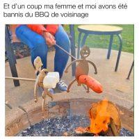 Comment se faire bannir d'un barbecue de voisins