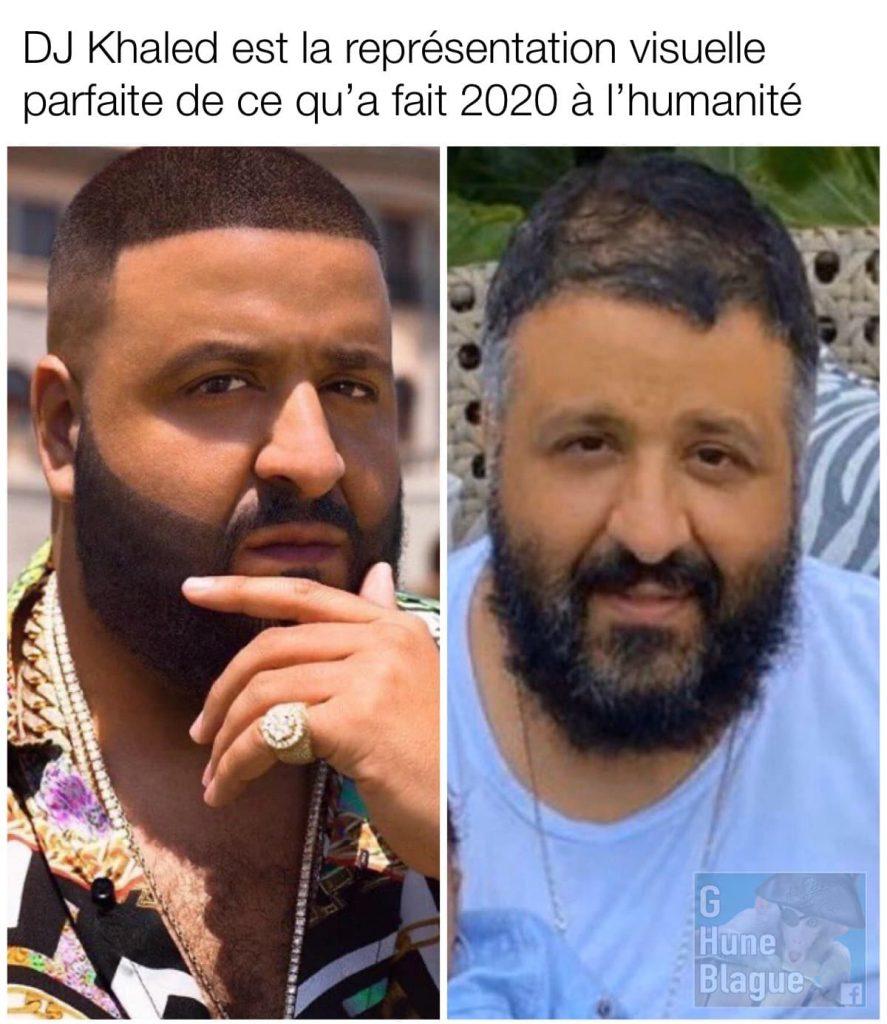 DJ Khaled est la représentation parfaite de ce que 2020 à fait à l'humanité