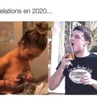 Les relations sexuelles en 2020 avec le confinement