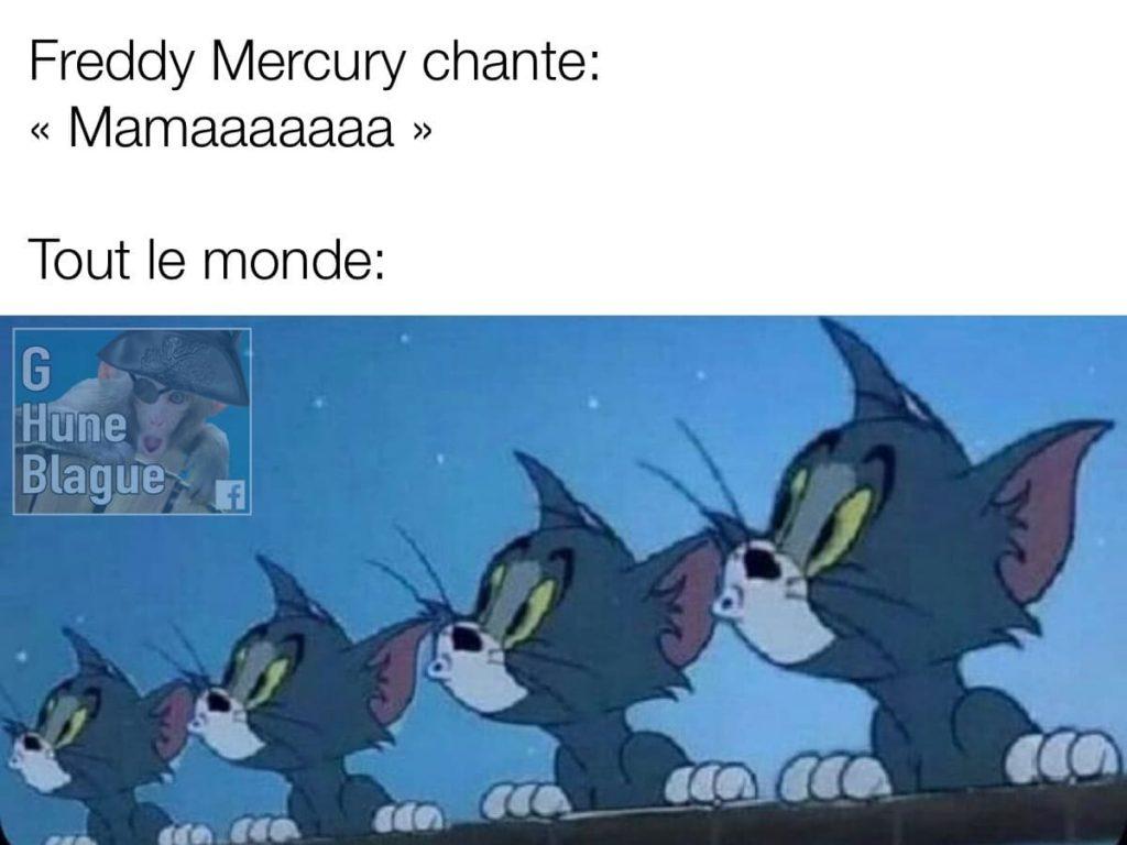 Quand Freddy Mercury chante «Mamaaaaaaa»... Bohemian Rhapsody