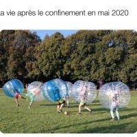 La vie après le confinement en mai 2020
