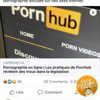 On s'attends à rien de moins de la part de Pornhub